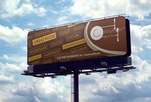 Cinnamon Fusion Billboard